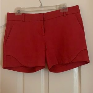 The Limited tomato colored shorts